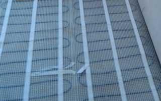 Instalación de suelo radiante eléctrico