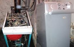 Sustitución de caldera de gasóleo