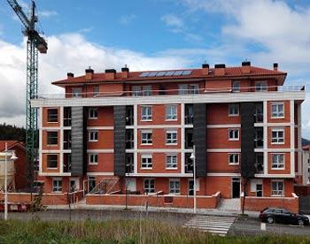 Urbanización con energía solar térmica