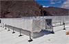 Instalación de climatización con energía solar térmica y ventilación